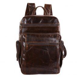 Фотография - Рюкзак кожаный TIDING BAG 7202C - номер 4