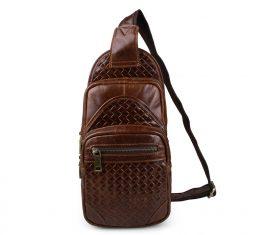 Мужская сумка через плечо 7250B