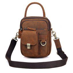 Кожаная сумка через плечо 1003B