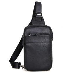 Кожаная сумка через плечо 4002А