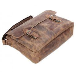 Кожаная сумка через плечо 6002LR