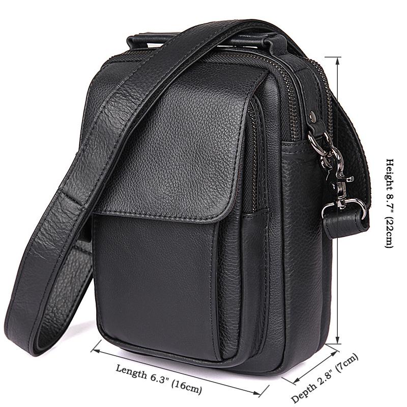 3c7a17eb0294 Удобная кожаная мужская сумка на плечо и в руку (арт. 1032А) купить ...