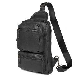 Кожаная сумка на плечо 4011A