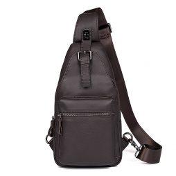 Кожаная сумка через плечо 4012Q