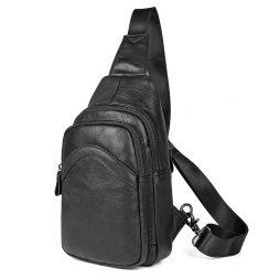 Кожаная сумка на плечо 4013A