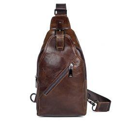 Кожаная сумка на плечо 4014C