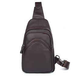 Кожаная сумка через плечо 4013Q