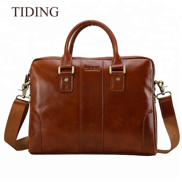 12ace2dbdd28 Роскошная мужская сумка портфель из натуральной кожи (арт. 1046 ...