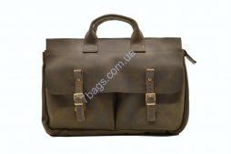 Мужская сумка портфель из crazy horse RC-7107-1md TARWA - фото сумки 2