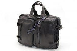 Кожаная сумка с карманами GA-7014-1md TARWA - фото сумки 2