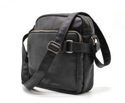 """мессенджер из кожи """"Флотар"""" FA-6012-3md бренда TARWA - фото сумки 1"""