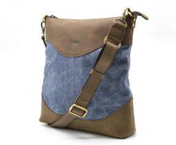 микс парусина+кожа RK-1807-4lx бренда TARWA - фото сумки 1