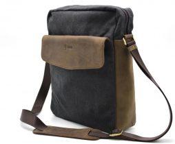 Мужская сумка парусина+кожа RG-1810-4lx от бренда Tarwa - фото сумки 2