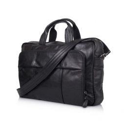 Сумка-портфель для ноутбука в черном цвете GA-7334-3md TARWA - фото сумки 2
