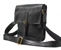 Мужская кожаная сумка-мессенджер GA-7157-3md от украинского бренда TARWA - фото сумки 2