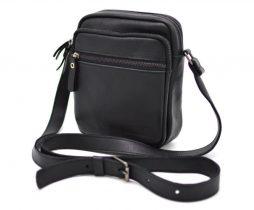 Мужская кожаная сумка через плечо FA-8086-1md TARWA - фото сумки 2