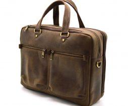Мужская кожаная деловая сумка  RC-4664-4lx TARWA - фото сумки 2