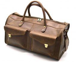 Дорожная кожаная сумка RC-5664-4lx TARWA - фото сумки 2
