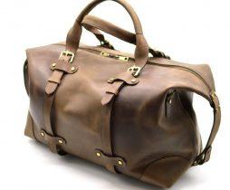 Дорожная сумка из натуральной кожи RC-5764-4lx TARWA - фото сумки 2