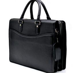 Деловая кожанная мужская сумка-портфель TA-4364-4lx TARWA - фото сумки 2