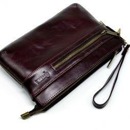 Мужской люкс клатч TARWA GX-8188 с петлей на запястье - фото сумки 2
