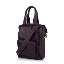 Кожаная мужская сумка трансформер GC-7266-2md TARWA - фото сумки 2