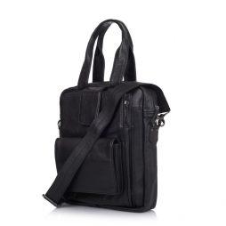 Кожаная мужская сумка трансформер GA-7266-2md TARWA - фото сумки 2