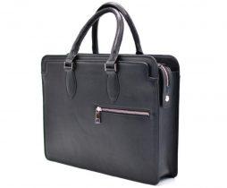 Кожаный деловой портфель TA-4864-4lx TARWA - фото сумки 2