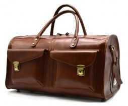 Дорожная кожаная сумка TB-5664-4lx TARWA - фото сумки 2
