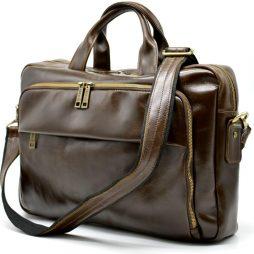 Многофункциональная сумка для делового мужчины  GQ-7334-3md бренда TARWA - фото сумки 2