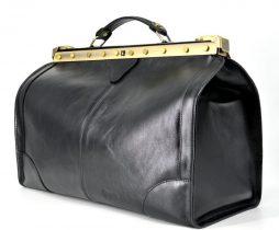 Эксклюзивный саквояж  из телячьей глянцевой кожи TARWA TA-1221-4lx - фото сумки 2