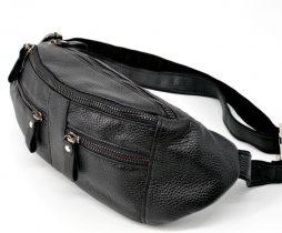 Мужская кожаная сумка на пояс FA-3088-4lx TARWA - фото сумки 2