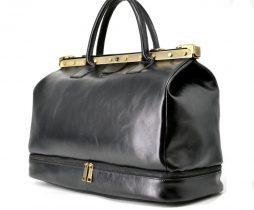 Кожаная сумка-саквояж с двойным дном TA-1185-4lx TARWA - фото сумки 2