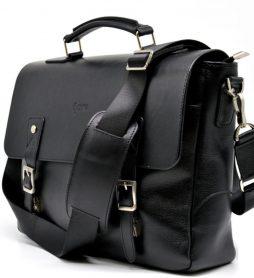 Мужская сумка-портфель из кожи GA-3960-4lx TARWA - фото сумки 2