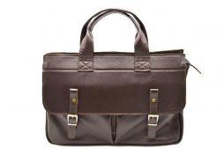 Мужская кожаная сумка с отделом для ноутбука GC-7107-1md TARWA - фото сумки 2