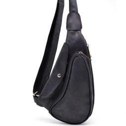 Компактный кожаный рюкзак на одно плечо RA-3026-3md TARWA - фото сумки 2