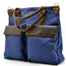 через плечо (канвас и кожа) TARWA RK-1355-4lx - фото сумки 1