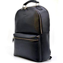 Мужской кожаный рюкзак TA-4445-4lx бренда TARWA - фото сумки 2