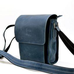 Мессенджер мужской из натуральной кожи RK-3027-3md TARWA - фото сумки 2