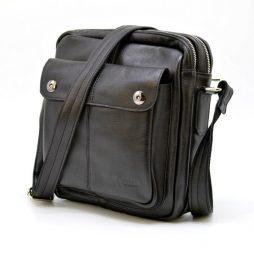 Мужской мессенджер из натуральной кожи GA-60122-3md бренда TARWA - фото сумки 2