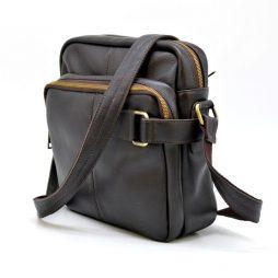 Кожаный мессенджер для мужчин GC-6012-3md бренда TARWA - фото сумки 2