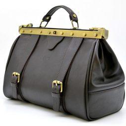 Cаквояж коричневый из натуральной телячьей кожи TARWA TC-3344-4lx - фото сумки 2