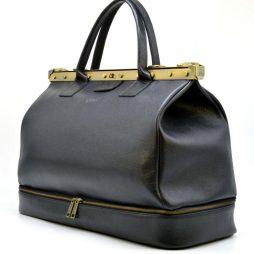 """Эксклюзивный саквояж из натуральной кожи """"флотар"""" с двойным дном FA-1185-4lx TARWA - фото сумки 2"""