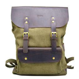 Рюкзак унисекс парусина и кожа RH-9001-4lx бренда TARWA - фото сумки 2