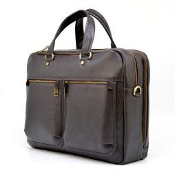 Мужская кожаная сумка для ноутбука и документов TARWA TC-4664-4lx - фото сумки 2
