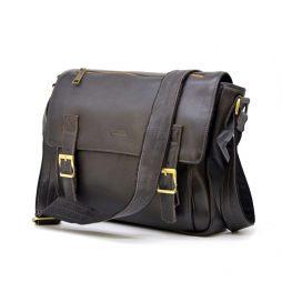 Мужская кожаная сумка через плечо из телячьей кожи TARWA GC-6046-1md - фото сумки 2