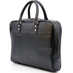 Деловая мужская сумка-портфель из натуральной кожи TA-4765-4lx TARWA - фото сумки 2