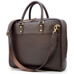 Мужская сумка-портфель из натуральной кожи TC-4765-4lx TARWA - фото сумки 2