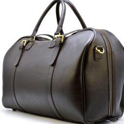 Дорожная кожаная сумка TC-1133-4lx бренда TARWA - фото сумки 2