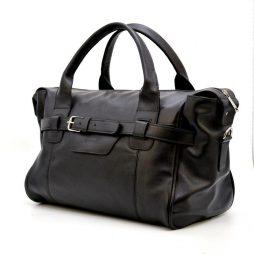 Дорожная компактная кожаная сумка GA-7079-3md бренда TARWA - фото сумки 2
